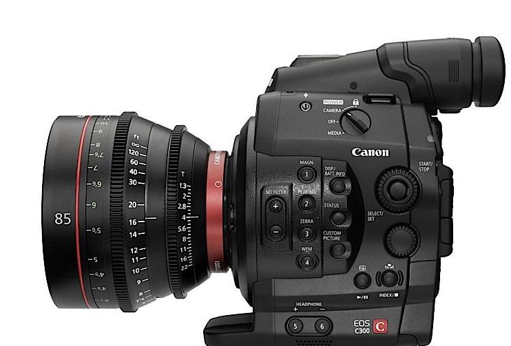 La nouvelle caméra canon